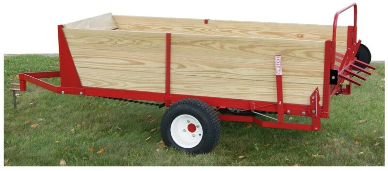 MANURE SPREADER,HORSE GROUND DRIVEN, 25 BUSHEL MADE IN THE USA!