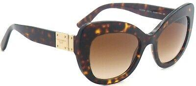 Dolce&Gabbana Damen Sonnenbrille DG4308 502/13 53mm havana braun cat eye 392 55