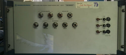 Rohde & Schwarz Switching and Signal Conditioning Unit .SSCU . 1134.3000.02