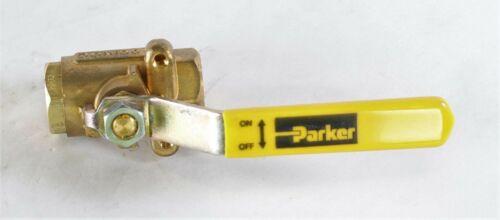 """New V502P4 Parker Low Pressure Ball Valves ¼"""""""