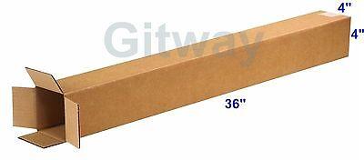 25 4x4x36 Tall Long Cardboard Shipping Golf Club Driver Pole Box Boxes 36x4x4