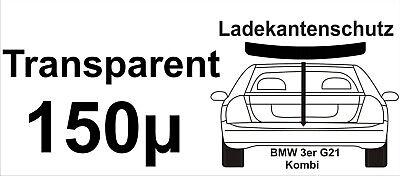 Lackschutzfolie Ladekantenschutz für BMW 3 er G21 G 21 Kombi transparent 150µ