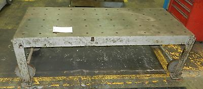 Lay Out Welding Table Fabrication Work Bench 6ft X 30 Top M7 1031isu