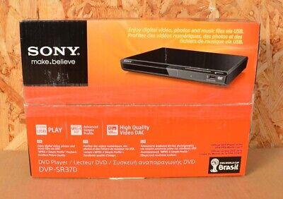 Sony DVP-SR370 DVD-Player mit USB sehr platzsparend ~schwarz~ B-Ware