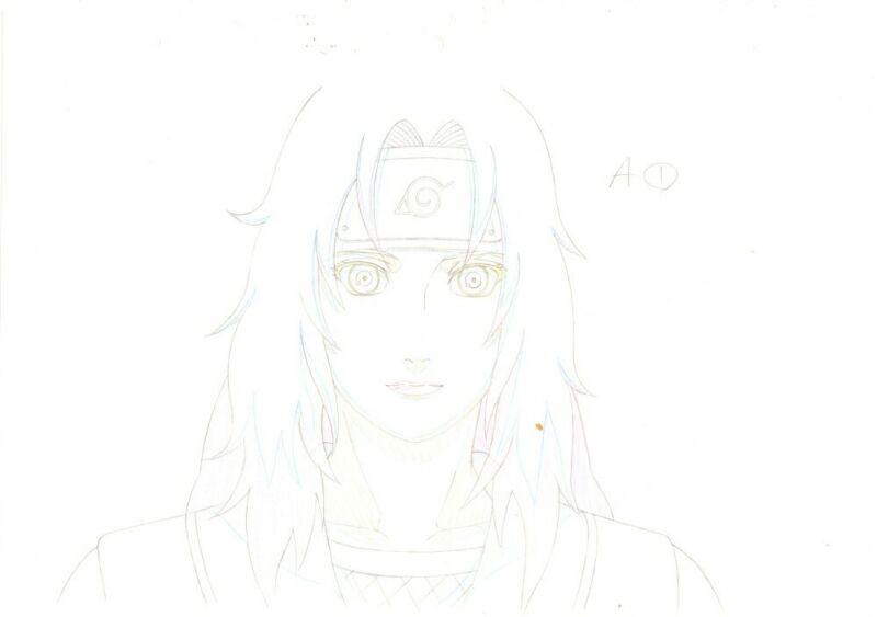 Anime Genga not Cel Naruto #343