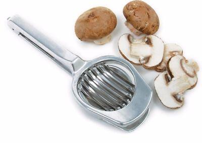 """Norpro Deluxe Mushroom Egg Fruit Strawberry Blade Slicer New Cast Aluminum 7.5"""""""