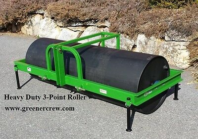 Turf Roller 3-Point or Skid Steer Mount