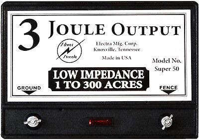 Fence Charger Super 50 3-joule Free Lightning Diverter 4j Lightning Fuse