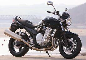 WANTED Suzuki bandit gsf 650