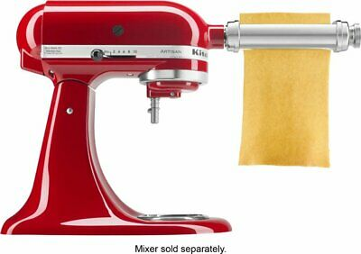 KSMPSA Pasta Sheet Roller for Most KitchenAid Stand Mixers - Silver