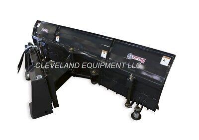 New 72 Virnig Snow Plow Blade Attachment John Deere Cat Case Skid Steer Loader