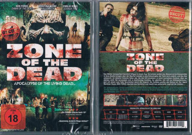 APOCALYPSE OF THE LIVING DEAD --- Zone of the Dead --- Uncut --- Neu & OVP ---