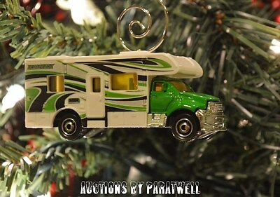 1/64 Rv Motor Home Weihnachten Ornament Kutscher Wald Fluss Vacation C Klasse (1 64 Rv)