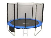 Very slightly used SPORTSPOWER 12FT FOLDING TRAMPOLINE