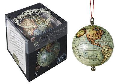Robert De Vaugondy 1745 Terrestrial Hanging World Globe Brass Fittings
