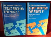 Flight Briefing for Pilots volumes 1and 4 by N.H. Birch and A.E. Bramson