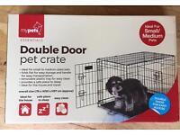 Dog Cat Pet Crate Cage Pen Enclosure