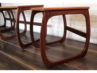 """Nathan"" Coffee Table & 2 Side Tables (Nest)"