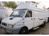 Iveco 5912 6ton high roof 7m van, option 12m mast, Campervan, mobile broadband etc