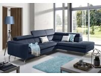 TEXAS - A classy and distinctly chic corner sofa. Delivery available
