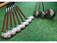 TaylorMade BURNER HT set of WOODS and IRONS