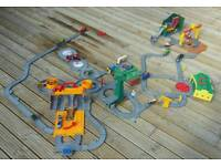 Thomas and Friends train set and die cast engines