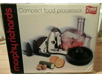 Morphy Richards Compact Food Processor