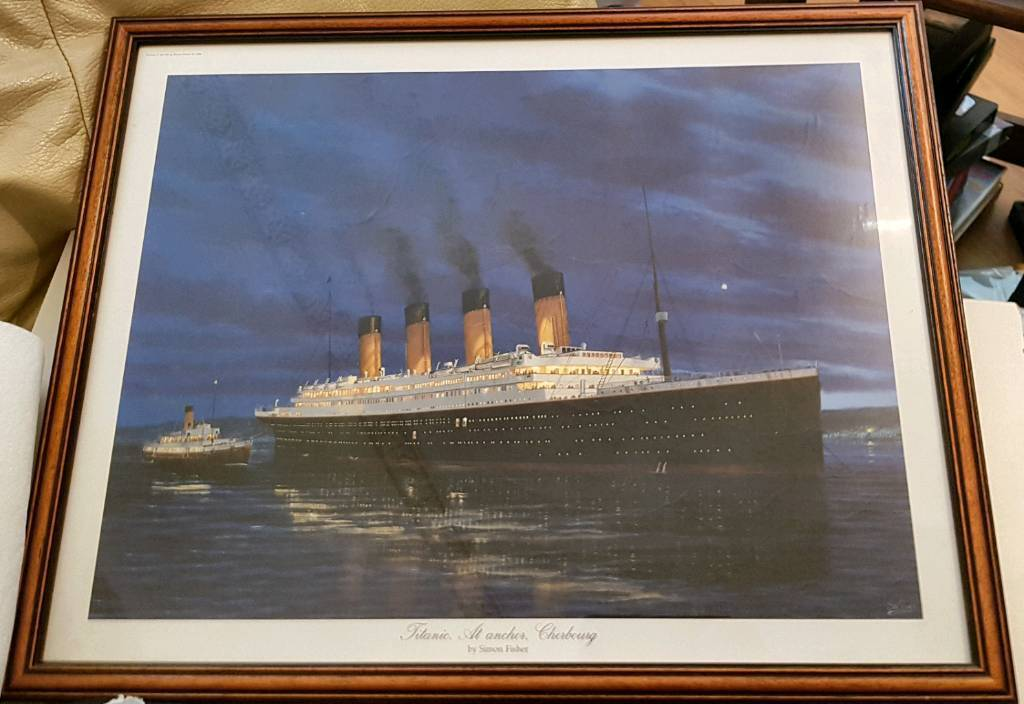 Titanic picture in a nice frame | in Cardiff City Centre, Cardiff ...