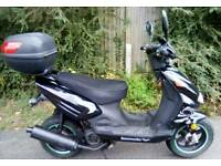 2014 Lexmoto TORNADO 125cc Scooter LEARNER LEGAL Moped TWIST & GO AUTOMATIC Nice Condition