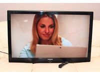 """SAMSUNG 46"""" LCD TV, built in FREEVIEW, HDMI, remote, FULLY WORKING"""