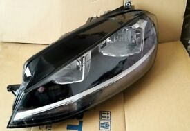 GENUINE VW MK7 GOLF 2017 NEARSIDE PASSENGER HEADLIGHT WITH LED DRL 5G2941005D