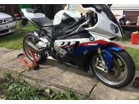 BMW S1000rr for sale including spare engine.