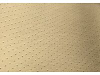 Artificial perforated leather - leftover roll