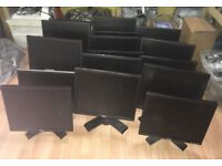 20 Monitors for sale.19inch-24inch.Philips,Hp,Samsung,Dell,LG.From-£30 to £75.Buy With shop receipt.