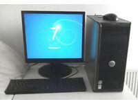 Gaming PC + 8 Games (i5, PC, Monitor, K/M, 4GB Ram, 1GB Nvidia GT, GTA 5, Quad, Desktop PC, Computer
