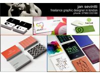 GRAPHIC DESIGNER Freelance for Your Business or Personal needs in London