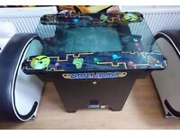 Retro Multi Game pacman arcade console table