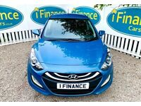 CAN'T GET CREDIT? CALL US! Hyundai i30 1.6 CRDi Blue Drive Active (ISG) - £200 DEPOSIT, £37 PER WEEK