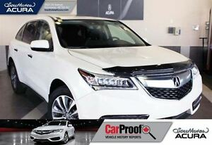 2016 Acura MDX Navigation, AWD, sunroof, leather, back up cam, B