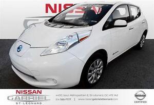2015 Nissan LEAF S BAS KILO/ CAMERA DE RECUL
