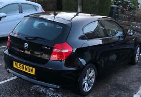 BMW 118d, low mileage, FSH, MOT until Nov 2018