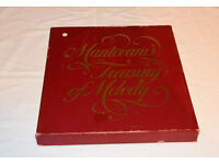 Boxed set of LP records – Mantovani's treasury of melody