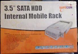 2 X MOBILE 3.5 HDD RACKS