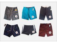 Brand New Designer shorts | Ralph Lauren | Ben Sherman | Volcom | Quicksilver | Speedo | Nautica