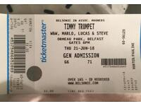 Timmy Trumpet Ticket for 21st June in Belfast