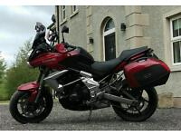 Dec 2013 Kawasaki Versys 650 Sports Tourer Motorcycle