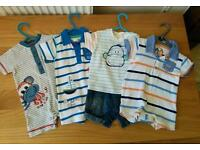 Boys Bundle of Summer Clothes 3-6 Months (17 items)