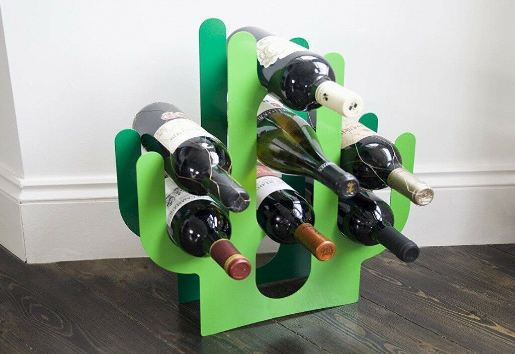 Very Cool Cactus Wine Rack For 8 Bottles In Muswell Hill London