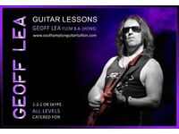Professional Guitar Tuition
