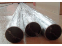 Wardrobe Rails Chrome 19 x 1830mm £8 for 3....'New'